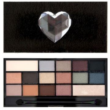 I Heart Makeup Chocolate Palette - Naked Underneath (Fur)