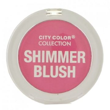 City Color Shimmer Blush - Fuchsia  - BB