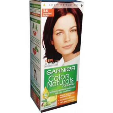 Garnier Color Naturals No 3.6 Deep Red Brown - 0378 - 8964000462256