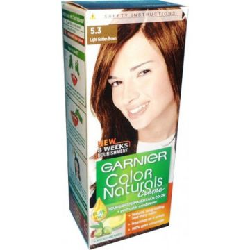 Garnier Color Naturals No. 5.3 Light Golden Brown - 376 - 8964000462294