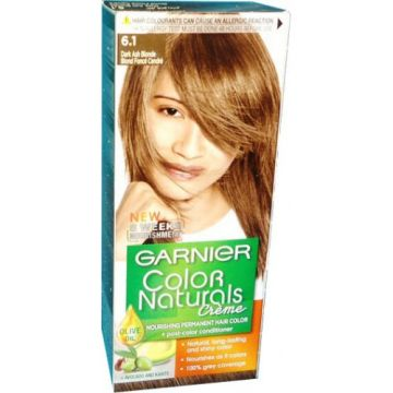 Garnier Color Naturals No 6.1 Dark Ash Blonde - 0389 - 3061376194530