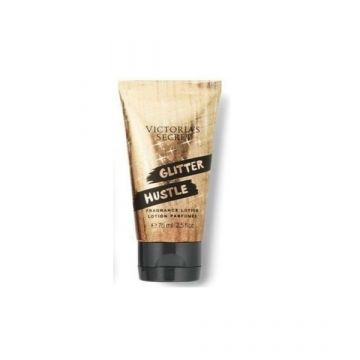 Victoria's Secret Glitter Hustle Fragrance Lotion (24K Caramel, Vanilla Kiss, Night Fever) (75ml/2.5oz) - US