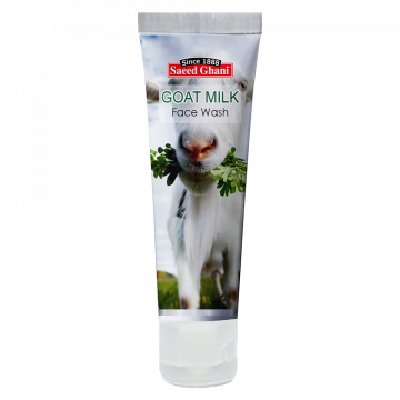 Saeed Ghani Goat Milk Face Wash - 60ml