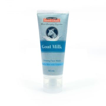 Saeed Ghani Goat Milk Face Wash - 60ml - 8964000258439