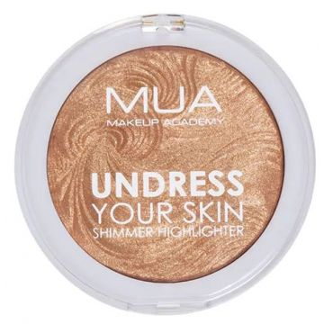 MUA Undress Your Skin Highlighting Powder - Golden Afterglow