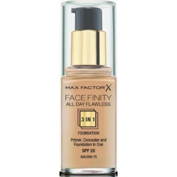 Max Factor Facefinity 3-IN-1 Foundation - Golden - 75 - 3614225851667