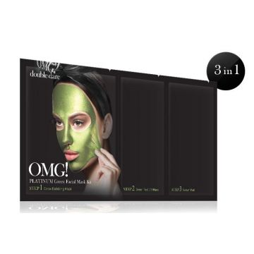 Double Dare OMG! Platinum Facial Mask Kit - Green