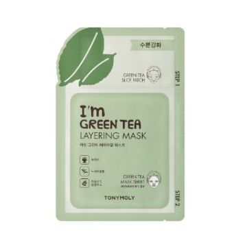 TonyMoly I'm Green Tea Layering Mask