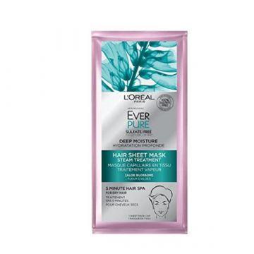 Loreal Paris Hair Care EverPure Deep Moisture Hair Sheet Mask, 1.7 Fl. Oz