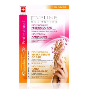 Eveline Hand Scrub & Mask Serum 6 x 2ml