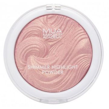 MUA Shimmer Highlight Powder - Hollywood Rose