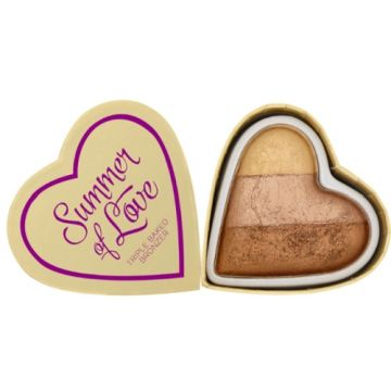 I Heart Makeup Blushing Hearts Bronzer - Hot Summer Of Love