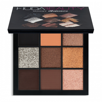 HudaBeauty Obsessions Eyeshadow Palette - Precious Stones Collection - Smokey