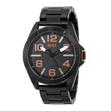 Hugo Boss Orange Men's 1513001 Berlin Black Bracelet Watch