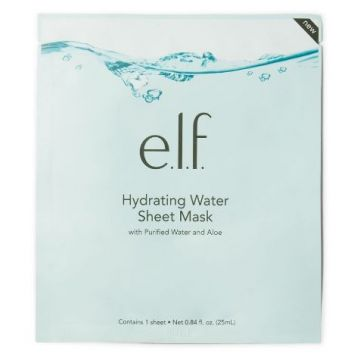 E.L.F Hydrating Water Sheet Mask - Purified Water and Aloe (57044)