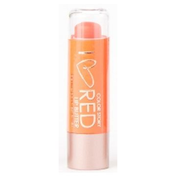 Color Story I Heart Red lip Crayon - Orange Tint is exclusively available at Just4girls.pk
