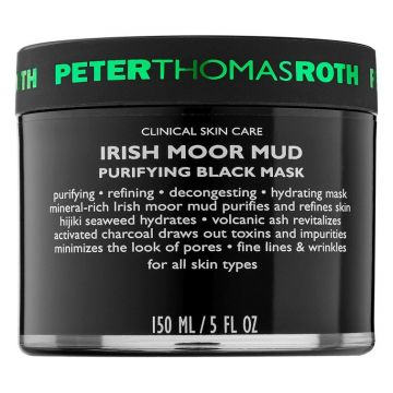 Peter Thomas Roth Irish Moor Mud - Purifying Black Mask - 150ml