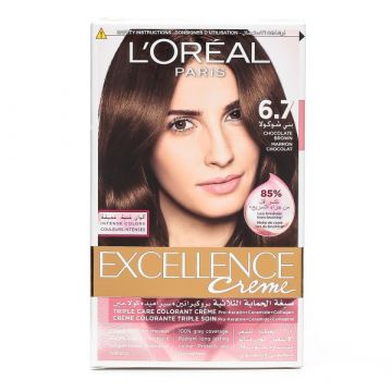 L'Oreal Excellence Creme - 6.7 Chocolate Brown - 0989 - 3600522831983