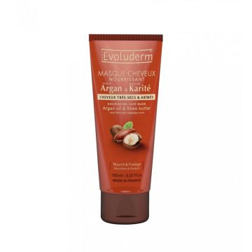 Evoluderm Hair Mask Argan & Karite - 150ml