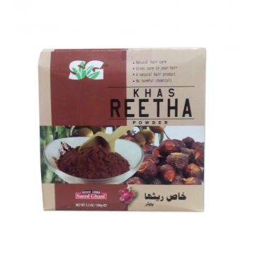Saeed Ghani Khas Reetha Powder - 100gm - 8964000259009