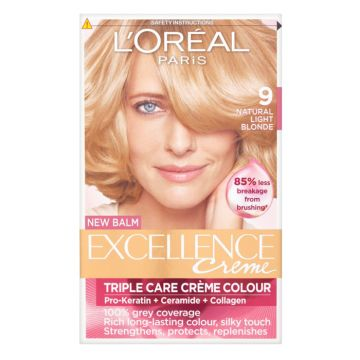 L`Oreal Excellence Creme Hair Colour - 9 Very Light Blonde