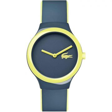 Lacoste 2020121 Goa Blue And Yellow Men Watch