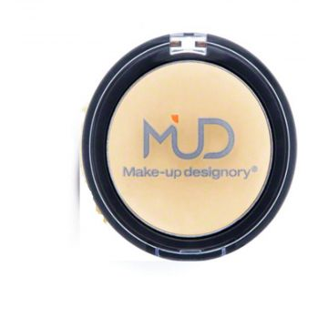 MUD Cheek Color Compact - Lemon Cream
