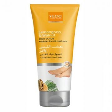 VLCC Lemon grass & Walnut Foot Scrub - 100ml