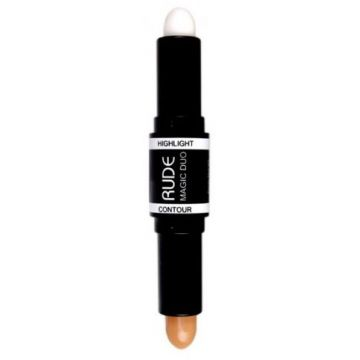 Rude Magic Duo Highlight & Contour - 65881 Light