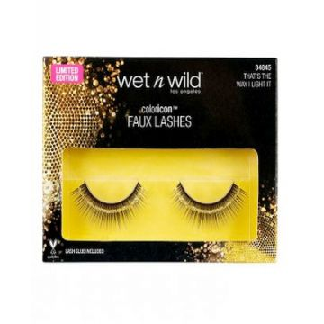 Wet n Wild Color Icon Faux Lashes - That's The Way I Like It 34845 - Limited Edition