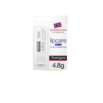 Neutrogena Lip Moisturiser, Norwegian Formula, SPF20 - 4.8g - 3574660455298
