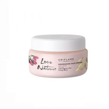 Oriflame Love Nature Nourishing Face Cream With Organic Oat & Goji Berry - 34862