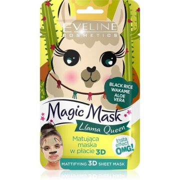 Eveline Magic Face Sheet Mask Queen Mattifying - 07-20-00030