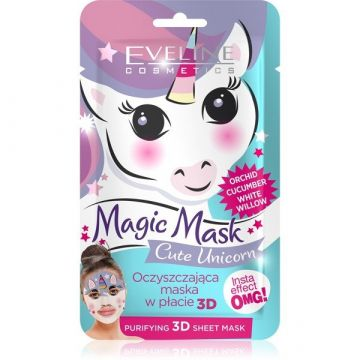 Eveline Magic Face Sheet Mask Unicorn Purifying - 07-20-00029