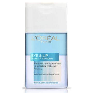 L'Oreal Eye & Lip Make Up Remover 125ml - 941