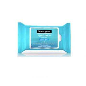 Neutrogena Makeup Remover Wipes, Hydro Boost Cleansing Face Pack 25 Wipes - 3574661291413