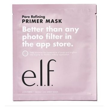 E.L.F Primer Sheet Mask -  Pore Refining Better Than Any Photo Filter In The App Store (81509)