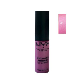 NYX Soft Matte Metallic Lip Creme - Maui - 0.15fl.oz./4.7ml - US