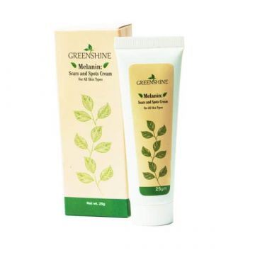 Greenshine Melanil Scars and Spots Cream - 25gm