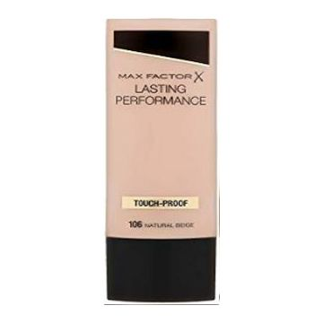 Max Factor lasting Performance Foundation - Natural Beige - 106 - 50683338