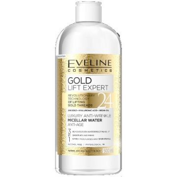 Eveline Gold Lift Expert Micellar Water Anti age 500ml - 07-04-00017
