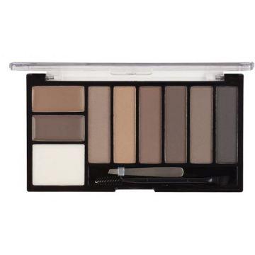 MUA Brow Professional Complete Kit - Mid/Dark