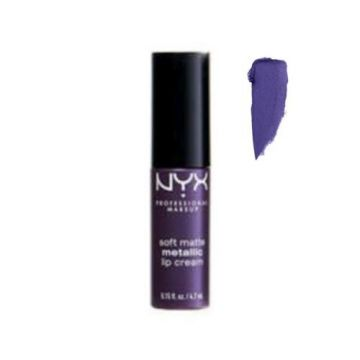 NYX Soft Metallic lip cream - Minsk - 0.15fl.oz./4.7ml - US