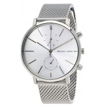 Michael Kors Silver Dia Mesh Stainless Steel Men's Watch