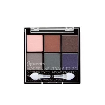 BH Cosmetics Modern Neutrals To Go 6 Color Eyeshadow Palette