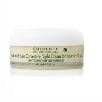 Eminence Monoi Age Corrective Night Cream Face-neck 60ml