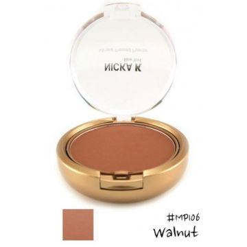 Nicka K Mineral Pressed Powder - MP106 Walnut