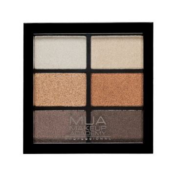 MUA 6 shade palette - glamour golds is exclusively available at just4girls.com