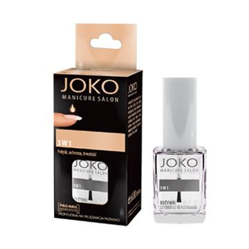 JOKO Makeup Nail Conditioner NR 007 3 In 1 - NJOD40129-B