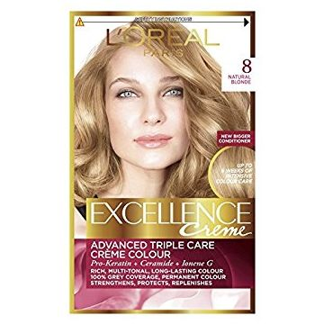 L'Oreal Paris Excellence Creme - 8 Natural Blonde - 599.100109.00.000